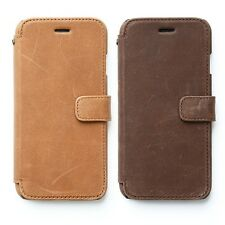 "Zenus Vintage Diary Genuine Nubuck Leather Cover Case for iPhone 6S 6 (4.7"")"