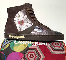 Scarpe shoes sneakers Desigual marrone margherita A-I 2014/15