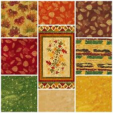 A NEW LEAF Collection by RO GREGG for Fabri-Quilt Fall Fabric by the Yard 2014