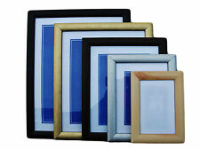 PICTURE / PHOTO FRAME BLACK-PINE-SILVER-GOLD-MAHOGANY ALL SIZES AVAILABLE