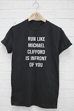 Run Like Michael Clifford Infront Of You Tshirt 5SOS 5 Seconds of Summer J1335