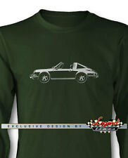 Porsche 911 Targa 1970 Long Sleeves T-Shirt - Multiple Colors and Sizes