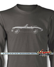 Austin Healey 3000 MKIII Convertible Long Sleeves T-Shirt - Multi Colors & Sizes