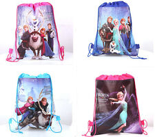 New Backpack For Frozen Swimming Clothes Environmental PE Toy Drawstring Bag