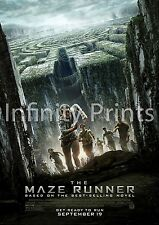 The Maze Runner Movie Film Poster A2 A3 A4