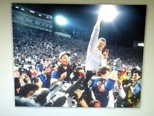 NEW YORK GIANTS BILL PARCELLS SUPER BOWL XXI XXV ICON 2013 HALL OF FAME PHOTO 4