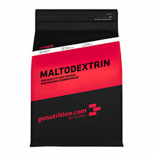 Pure Maltodextrin Powder by GoNutrition - High GI Carbohydrate - 1kg, 2.5kg, 5kg