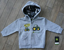 John Deere Like Father Like Son Camo Hoodie Toddler Boys Hooded Zip Jacket
