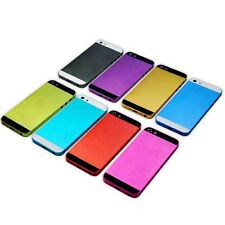 Colorful Hard Metal Back Battery Housing Cover Case Replacement  For iphone 5 5G