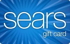 Sears Gift Card - $25 $50 $100 - Email delivery