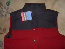 Patagonia NWT men's Bivy Down Vest Wax Red