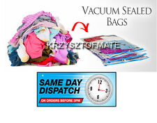 HIGH QUALITY VACUUM COMPRESSED STORAGE SAVING SPACE SAVER SEAL BAGS