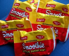 Boyer Smoothie Butterscotch Peanut Butter Candy Old Time Favorite 18 ct FRESH