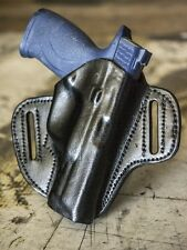 Sig Sauer P250 Full Size | OUTBAGS Genuine Leather OWB Pancake Belt Holster