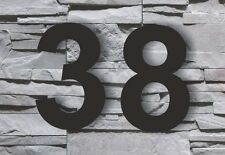 House Number Arial 20cm Acrylic black new high quality Signs