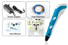 3D Printing Pen Printer Filament Crafting Modeling For Child Designers Drawing
