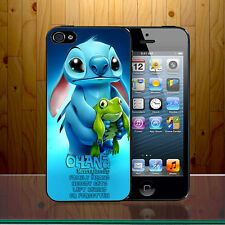 Lilo And Stitch Ohana Family Means Quote Vibe Disney Hard Phone Case Cover Z347