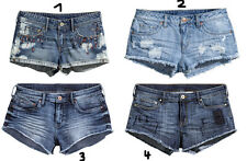 NEU H&M Damen Jeansshorts Jeans Shorts Hot Pants used look GR 34 36 38 40 42
