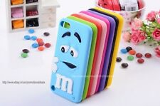 New Arrival Cute Rainbow bean 3D M Case Cover for Apple iPod Touch 5 5th Gen