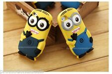 Cute Minion 3D Soft Silicone Back Case Cover For Apple iPod Touch 5 5th Gen
