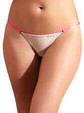 Laura Women's G-String Thong Low Rise Adjustable Sides S M L Hilo String Best