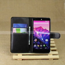For LG Nexus 5 New Arrival Luxury Litchi Lines Best Leather Durable Wallet Case