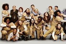 ORANGE IS THE NEW BLACK whole cast drugs murder violence photo glossy t-shirt