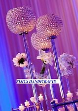 Crystal Globe wedding centerpieces Pillar Votive Candle Lamps and Holders Decor
