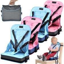 FALDABLE BABY KID BOOSTER SEAT TRAVEL CHAIR PORTABLE CAR TABLE TODDLERS CHILD #J