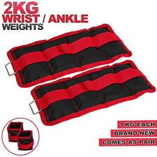 Wrist Ankle Weights Running Fitness Exercise Gym Training Velcro Foot Straps