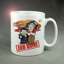 JOB DONE T.V. MUG / COASTER, TOP GEAR FOR ANY CAR NUT. (NOT WHEELER DEALERS ;-)