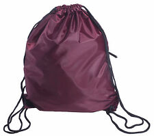 Outdoor Sports Lightweight Drawstring Backpack Cinch sack Gym School Bag