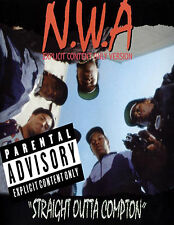 NWA 100 straight out of compton dr dre easy e ice cube rap glossy photo t-shirt