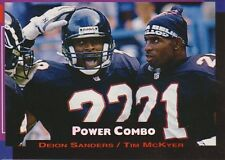 1993 Pro Set Power Football Power Combo Inserts