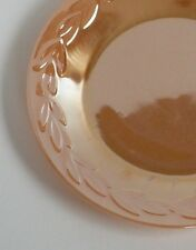 Vintage Fire-King Peach Luster Laurel Leaf / Swirl - Plates, Bowls...Your Choice