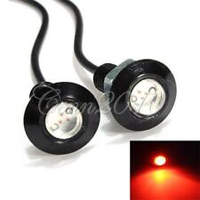 2/4/10 X Red LED Eagle Eye Car Motorcycle DRL Daytime Running Tail Backup Light