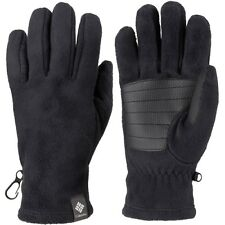 New Columbia womens Omni Heat lined fleece insulated gloves Black S