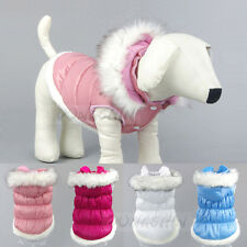 Pet Dog Cat Cute Princess hooded Clothes Vest Coat Puppy Costumes Outfit Dress
