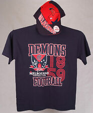 Official AFL Melbourne Demons Youth Supporter Tee and Cap combo