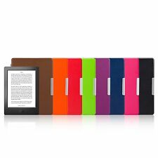 Magnetic Auto Sleep Leather Cover Case For NEW KOBO AURA H2O eReader + TOUCH PEN