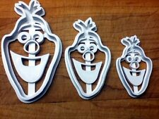 Olaf From Disney's Frozen - Cookie Cutter - Choice of Sizes - 3D Printed Plastic