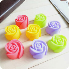 5pcs Rose Muffin Cookie Cup Cake Baking Chocolate Jelly Maker Mold Mould New