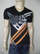 New Armani Exchange A|X Mens Slim/Muscle Fit Laser Cut Tee Shirt