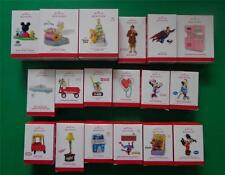 Christmas Past 2013 HALLMARK Ornaments New in Box