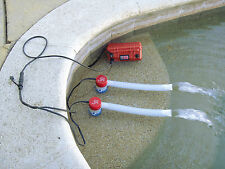 Electric Bilge Pump Kit, Manual, Up to 2200 GPH - Electric Water Pump for Boats