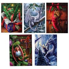 Anne Stokes Yule Midwinter Solstice Greeting Card Alternative Christmas Dragon