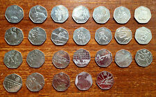 London 2012 Olympic games 50p pence coin dated 2011- Rare/Scarce & Kew gardens!