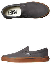 New Vans Men's Classic Slip On Shoe Canvas Shoes Grey
