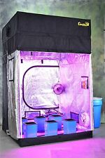 Turn-Key 5'x5' Gorilla stealth Hydroponic Grow Tent:100% Odor Control Guarantee!