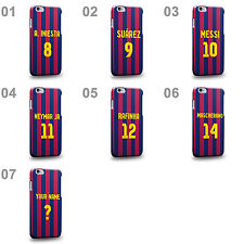 Personalised Customized Barcelona Soccer Team Home Jersey B Phone Case Cover